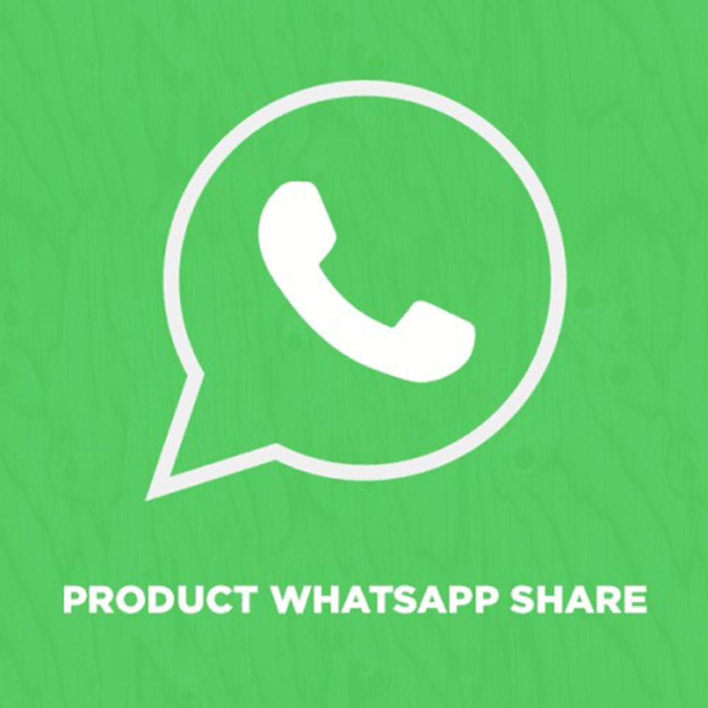 module - Pulsanti di condivisione & Commenti - Product WhatsApp Share - 1