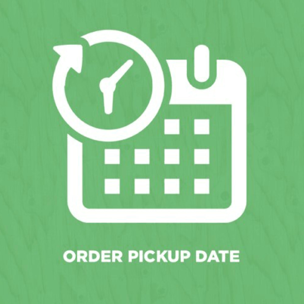 module - Collection Points & In-Store Pick Up - Order Pickup Date (Delivery Date) - 1