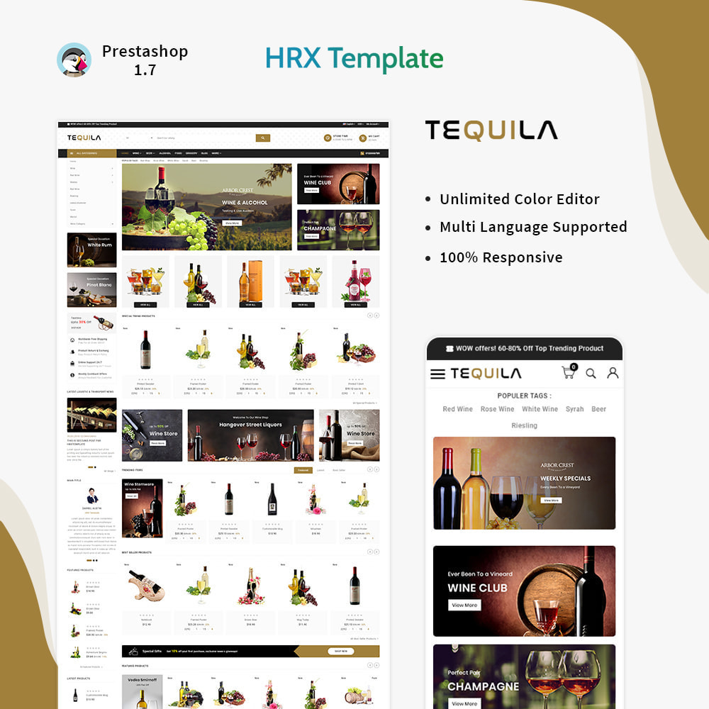 theme - Bebidas y Tabaco - Tequila Best Wine - The Wine Super Store - 1