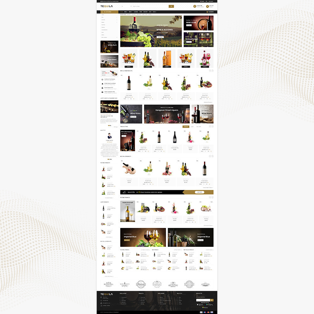 theme - Bebidas y Tabaco - Tequila Best Wine - The Wine Super Store - 2