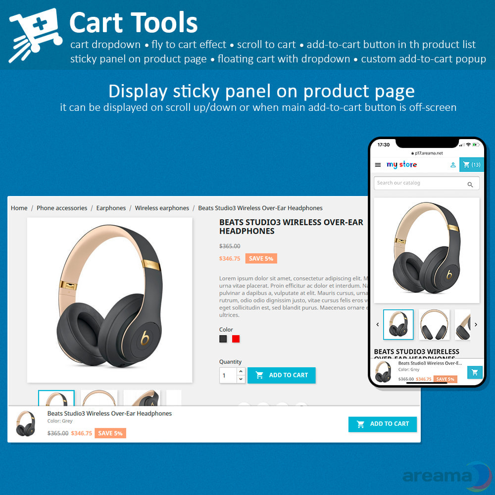 module - Pop-up - Cart Tools - cart dropdown, fly to cart, cart popup... - 7