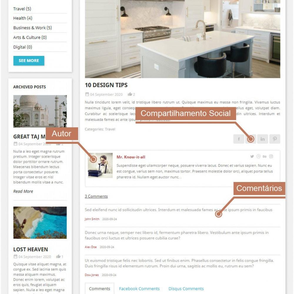 module - Blog, Fórum & Notícias - Business Blog Pro - 8