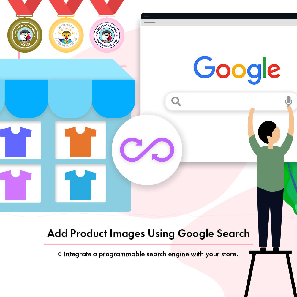 module - Pesquisa & Filtros - Add Product Images Using Google Search - 1