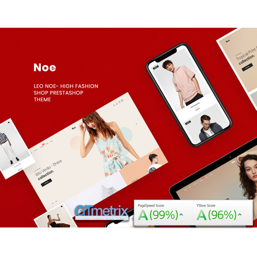 theme - Moda & Calzature - Noe - High Fashion Shop & Clothing Store - 1