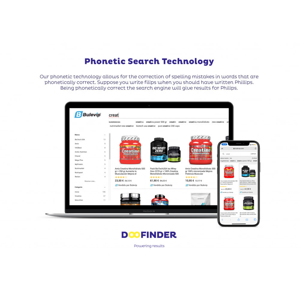 module - Search & Filter - Doofinder Onsite Search Engine - 4
