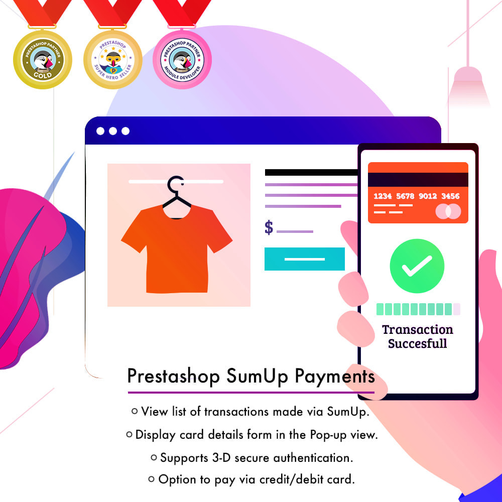 module - Payment by Card or Wallet - SumUp Payment Gateway - 2