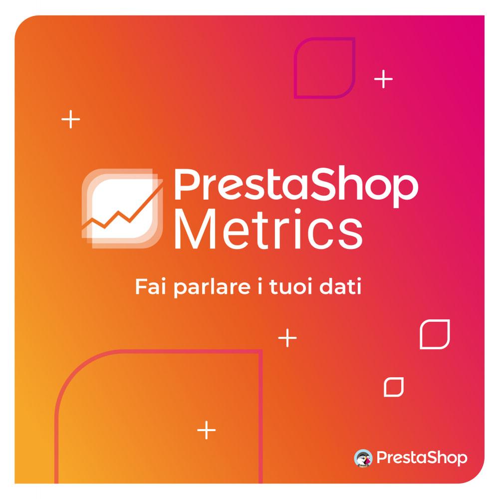 module - Analytics & Statistiche - PrestaShop Metrics - 6
