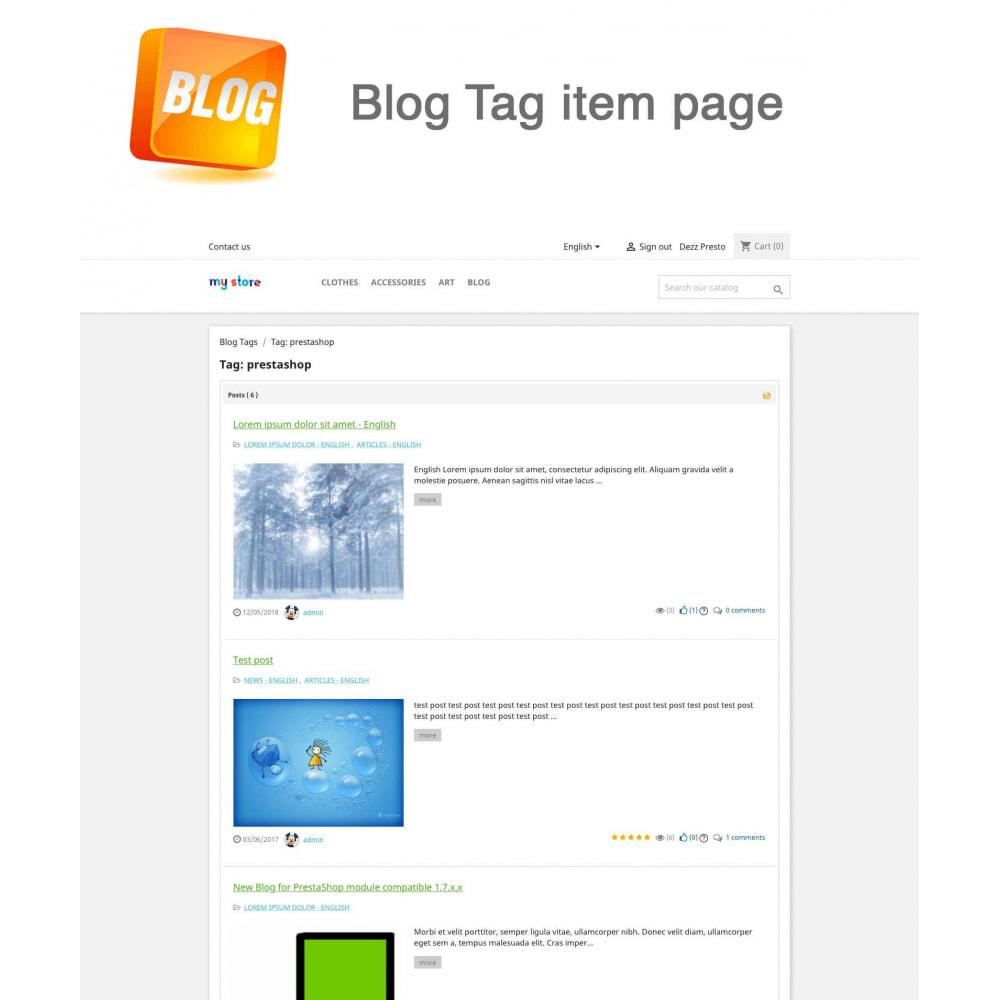 module - Blog, Forum & Actualités - Blog PRO + Programme de fidélité - 20