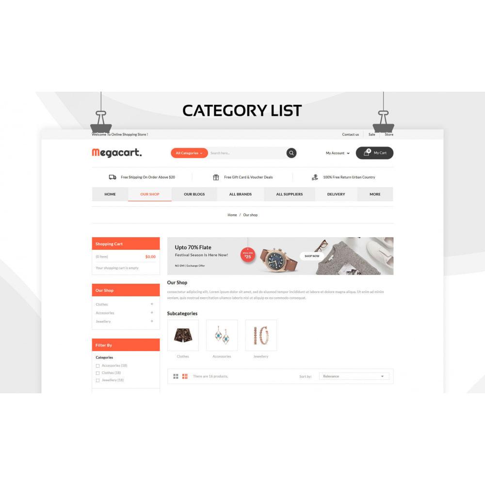 theme - Fashion & Shoes - Megacart - The Mega Store - 5