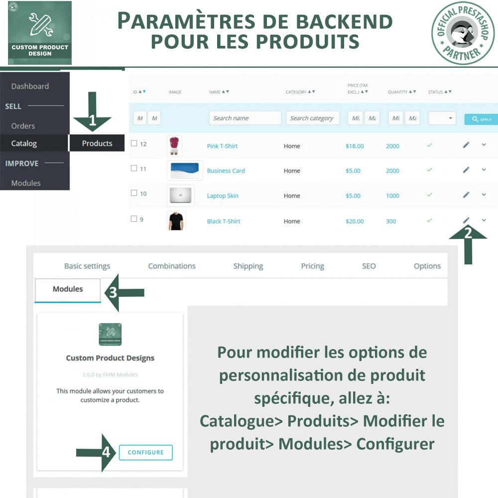 module - Déclinaisons & Personnalisation de produits - Concepteur de produits personnalisés - 15