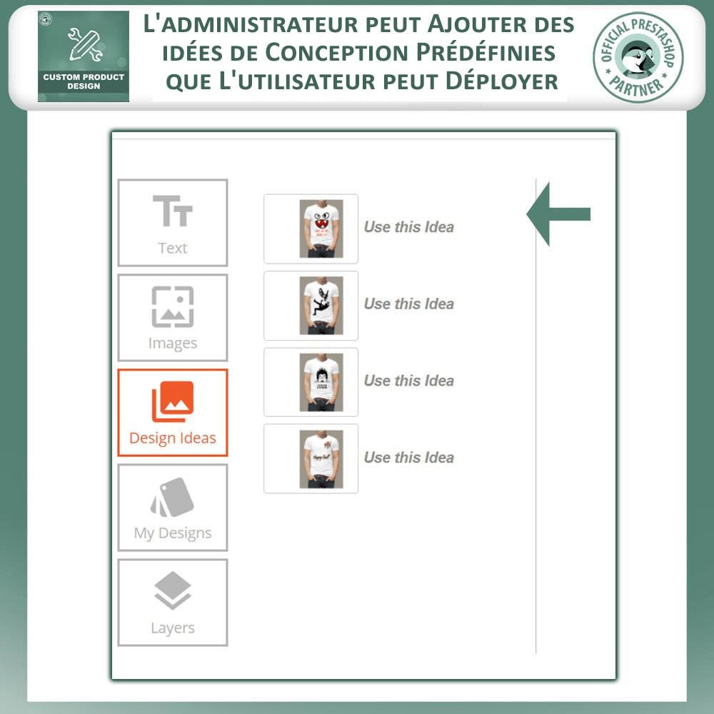 module - Déclinaisons & Personnalisation de produits - Concepteur de produits personnalisés - 5