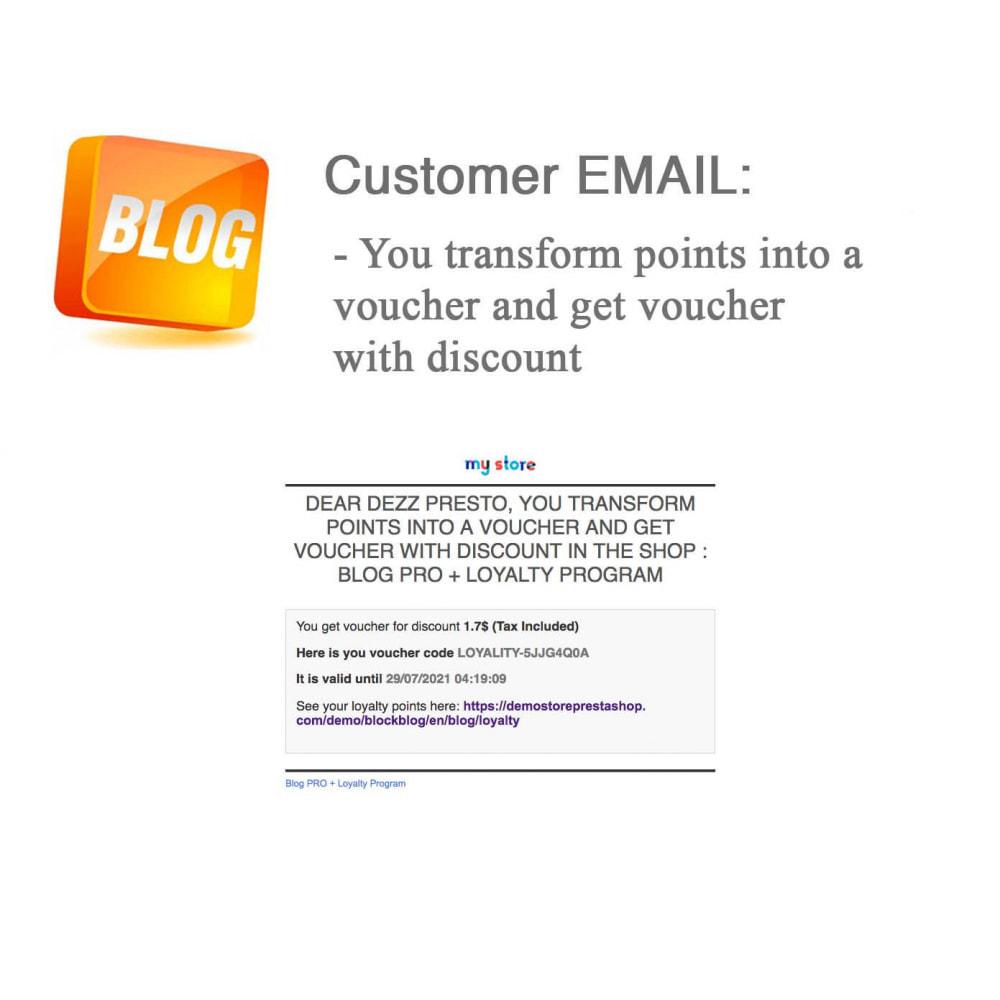module - Blog, Forum & Actualités - Blog PRO + Programme de fidélité - 74