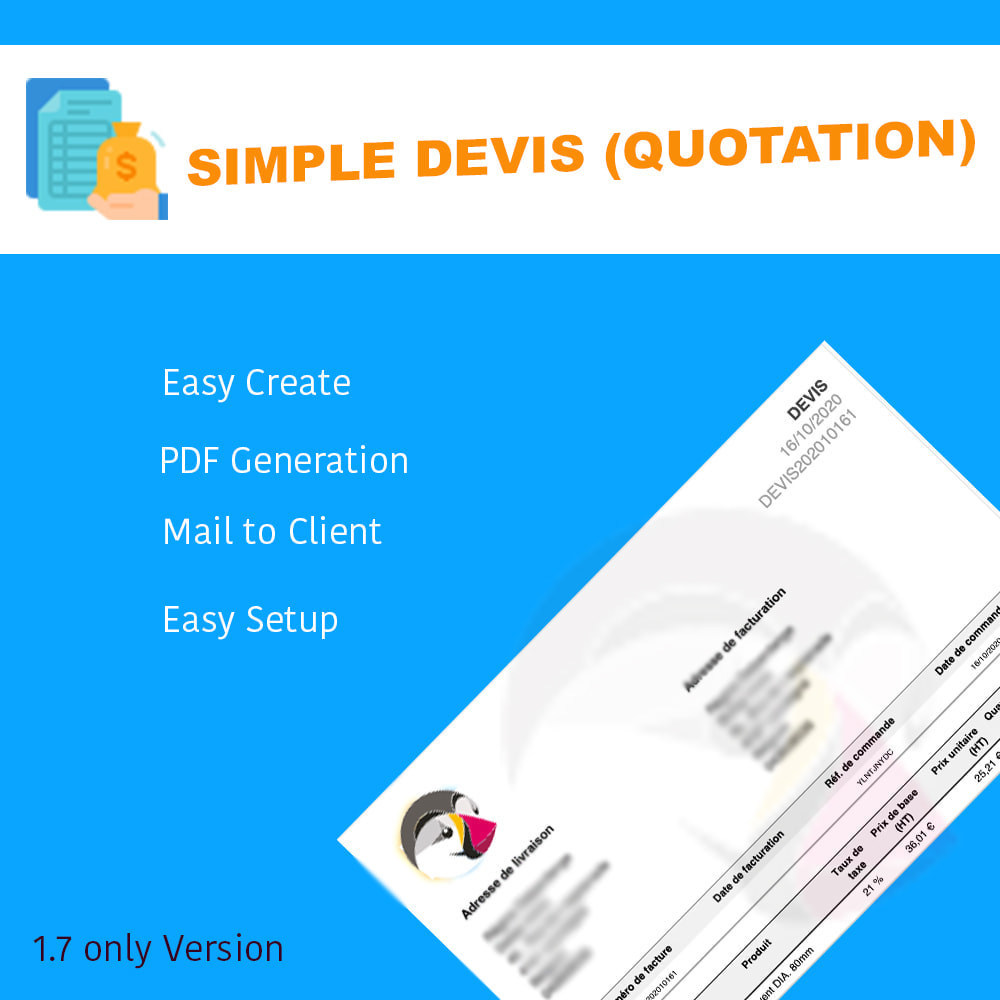module - Quotes - Simple Devis - 1