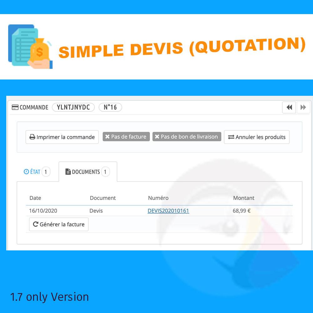 module - Quotes - Simple Devis - 3