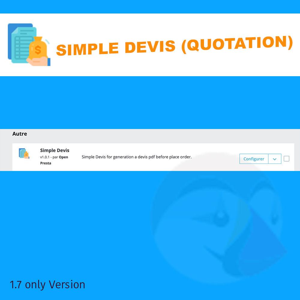 module - Quotes - Simple Devis - 4