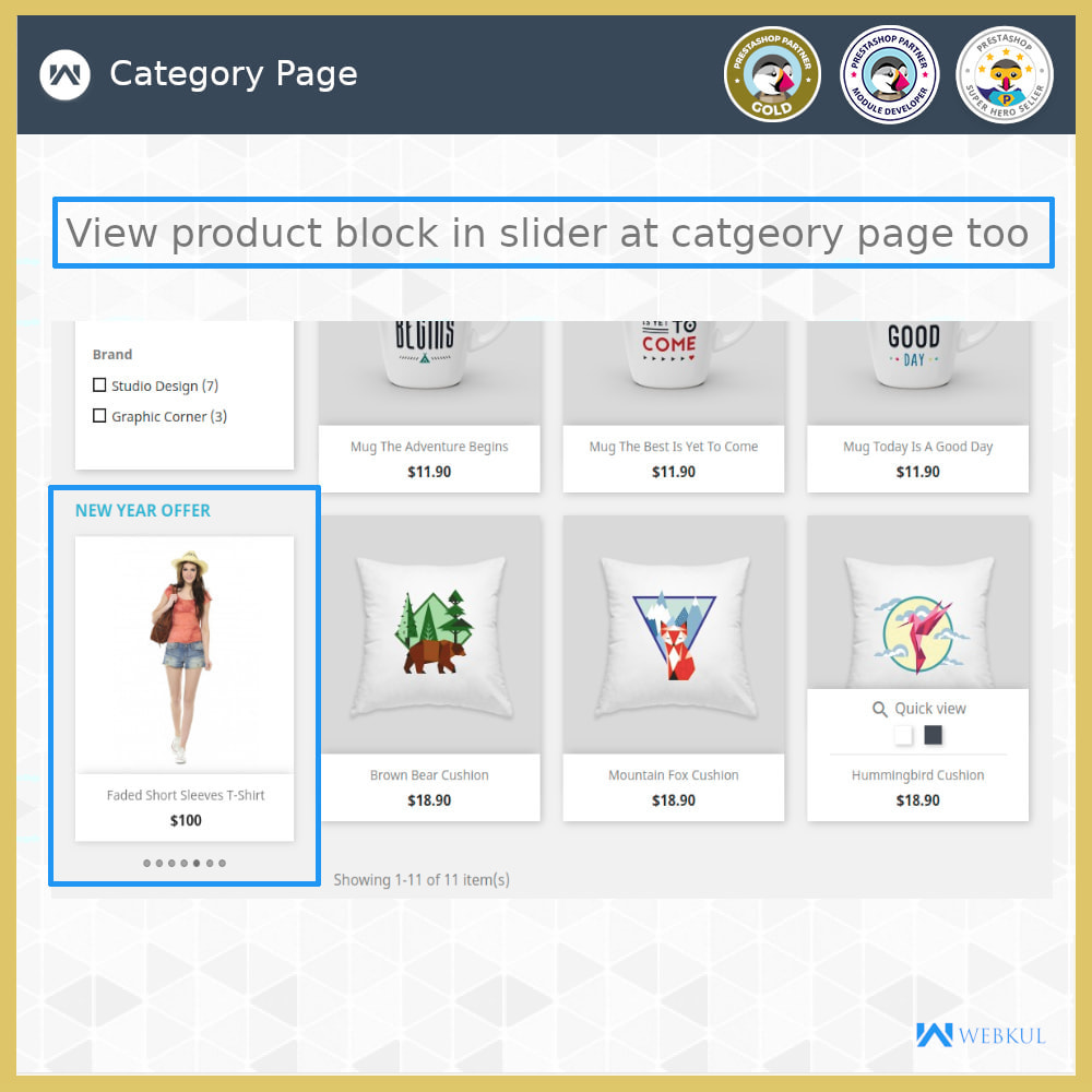 module - Blocos, Guias & Banners - Custom and Category Product Blocks - 8