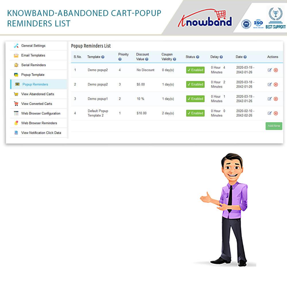 module - Remarketing & Opuszczone koszyki - Knowband - przypomnienie o opuszczonym koszyku - 22