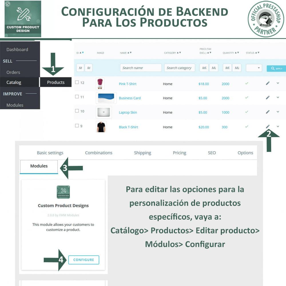 module - Combinaciones y Personalización de productos - Diseñador de productos personalizados - 15