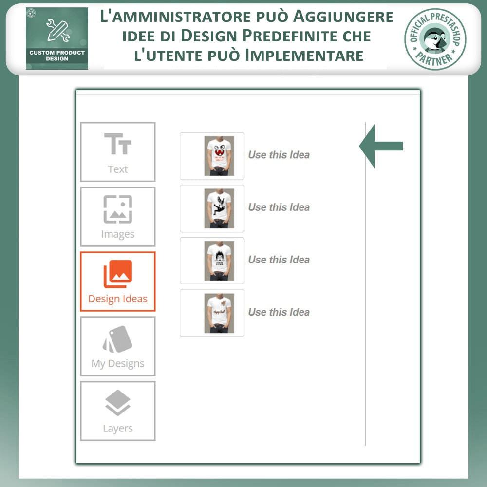 module - Combinazioni & Personalizzazione Prodotti - Designer Prodotto Personalizzato, Personalizza Prodotto - 2