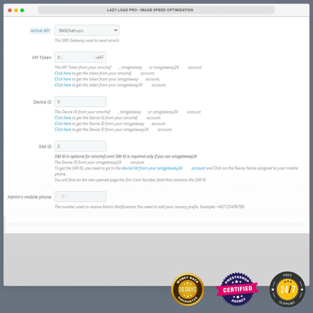 module - Newsletter & SMS - Bezpłatne powiadomienia SMS za pomocą własnej sieci - 19