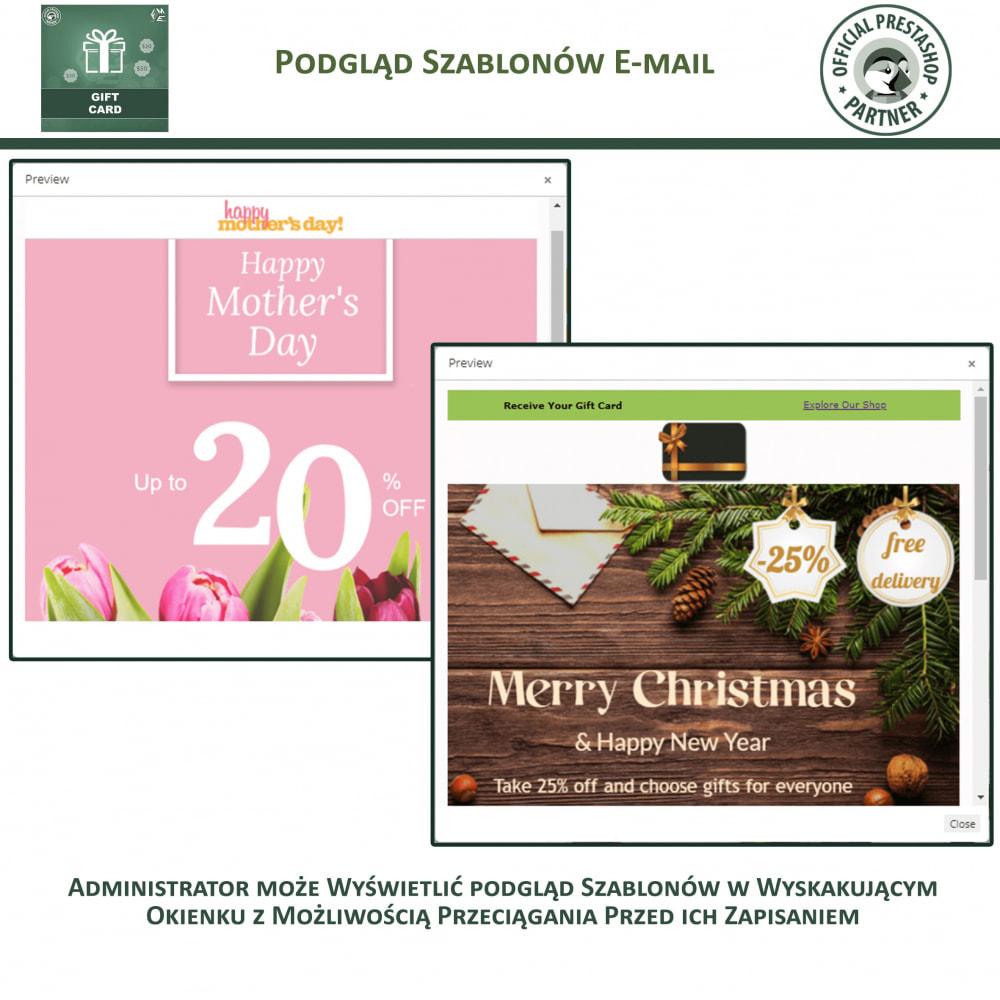 module - Lista życzeń & Karta podarunkowa - Karta Podarunkowa - 15