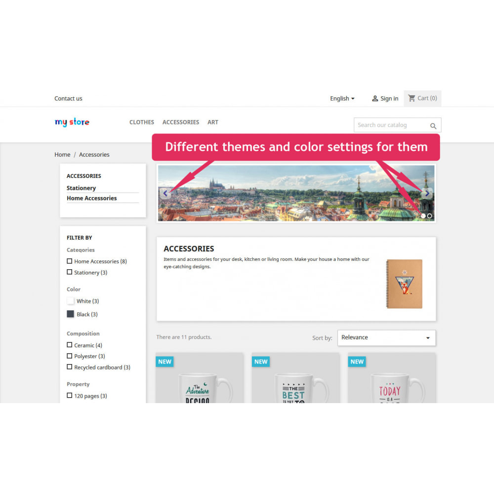 module - Silder & Gallerien - Sliders for category pages - 7