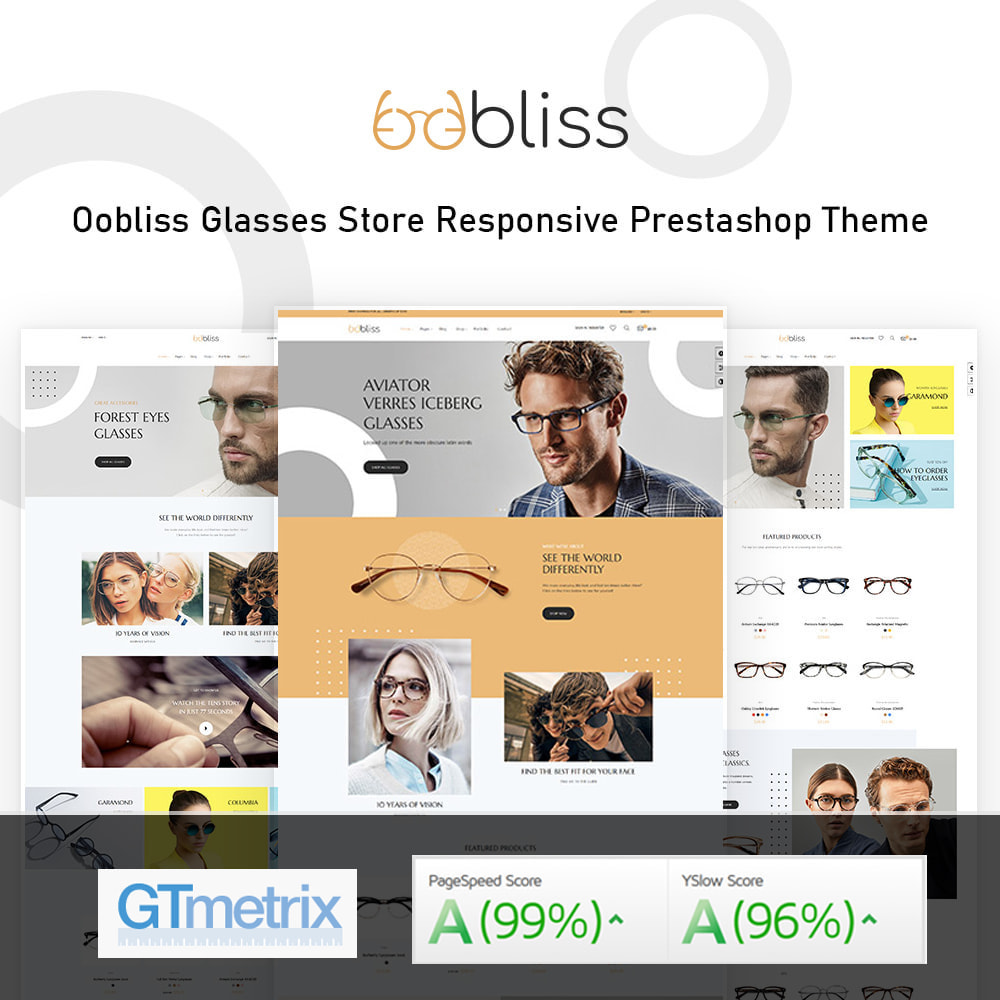 theme - Mode & Schoenen - Oobliss Glasses Store & Fashion - 1