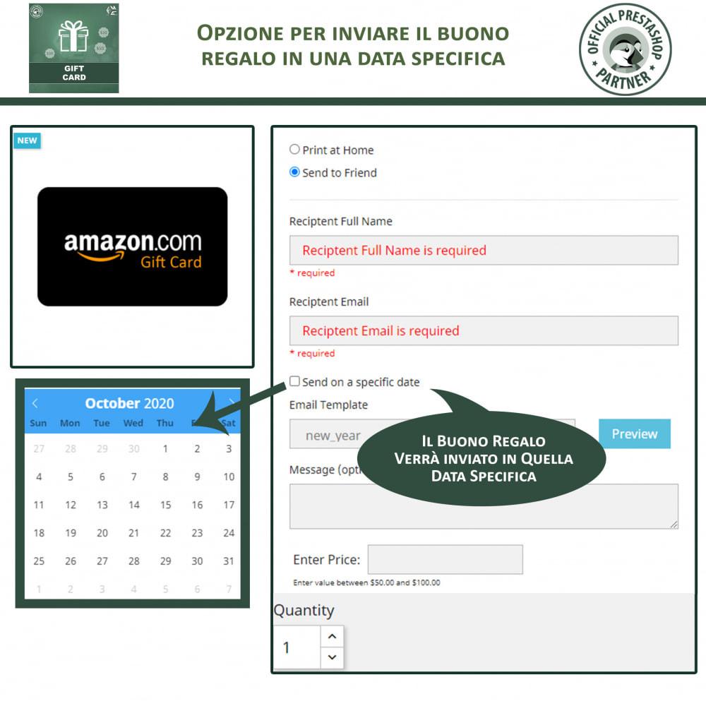 module - Whishlist & Gift Card - Carta Regalo - 4