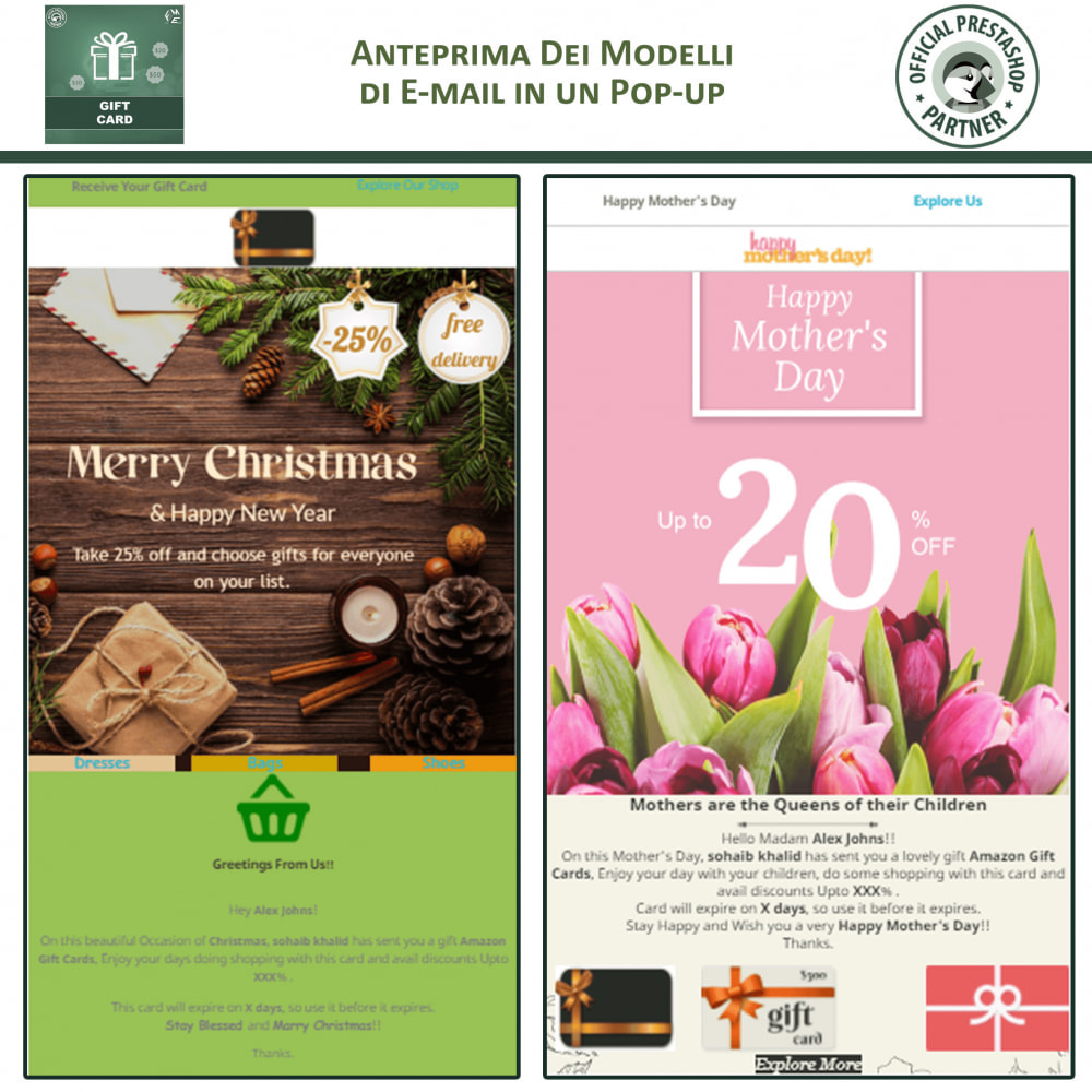 module - Whishlist & Gift Card - Carta Regalo - 5