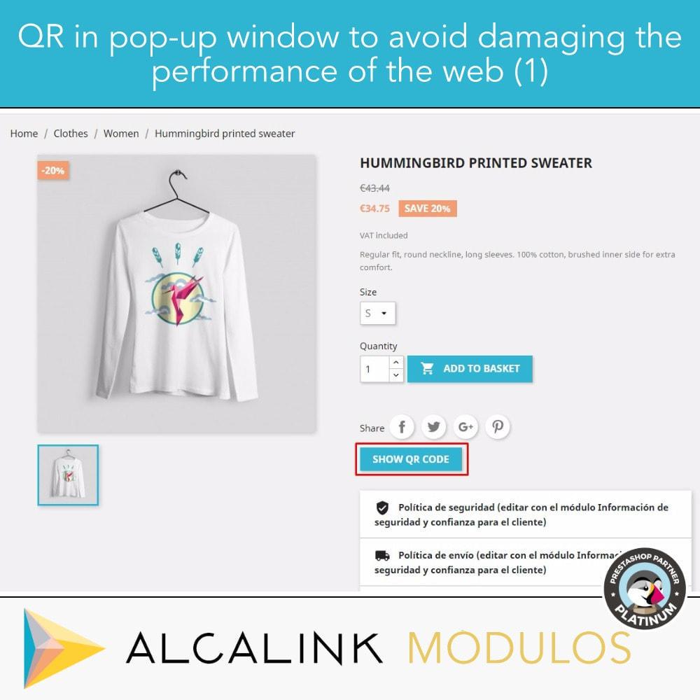 module - Wydajnośc strony - Optimized QR code on product page - 2
