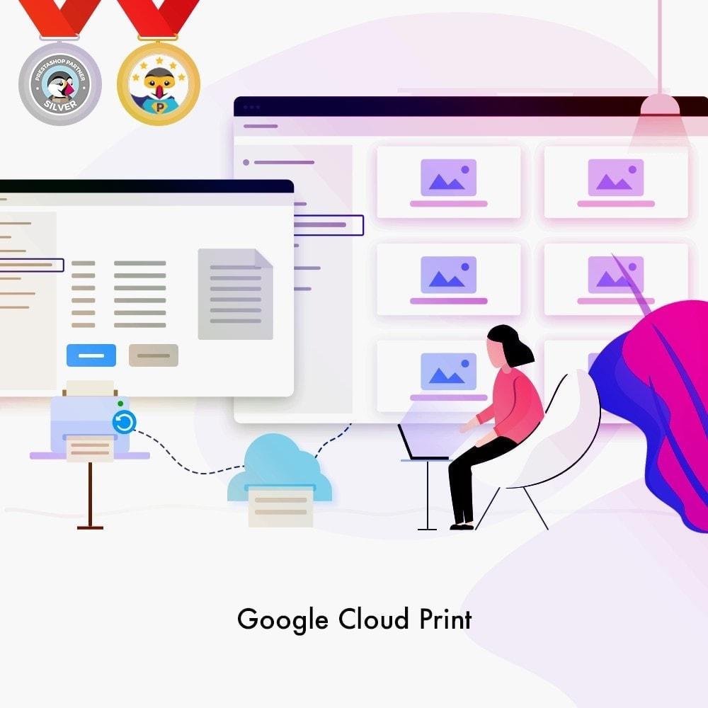 module - Préparation & Expédition - Google Cloud Print - 1