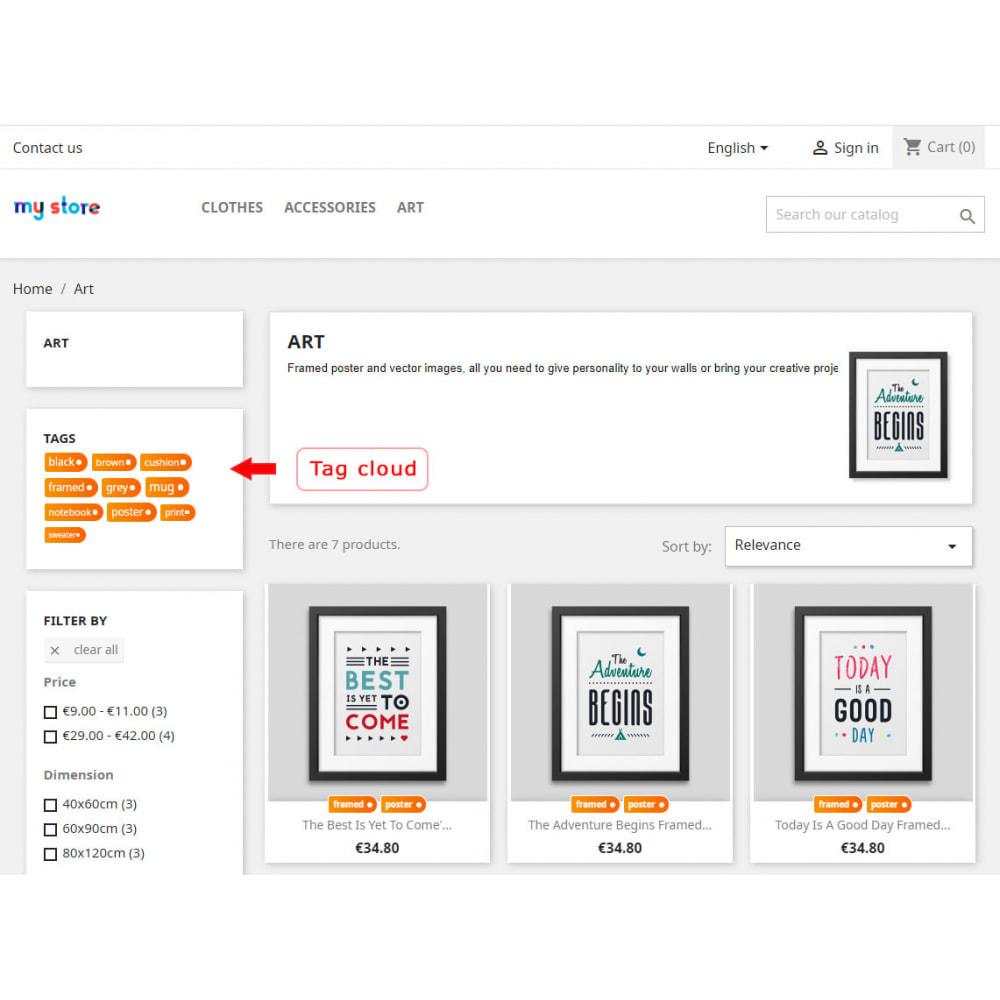 module - Odznaki & Logo - Better block of tags - 6