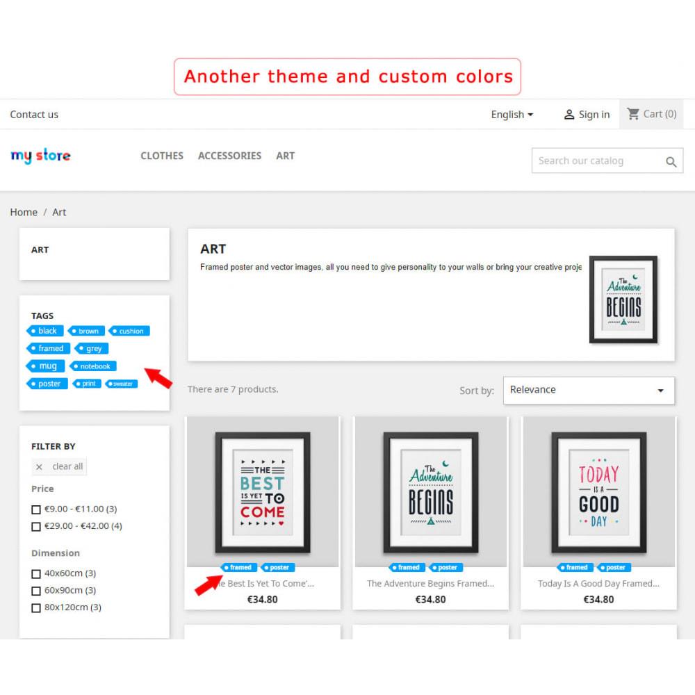 module - Odznaki & Logo - Better block of tags - 7