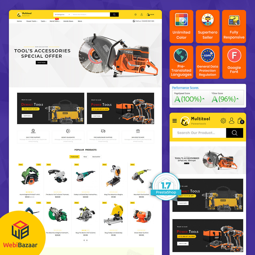 theme - Auto's & Motoren - Multitool - Mega Power Tool Store - 1