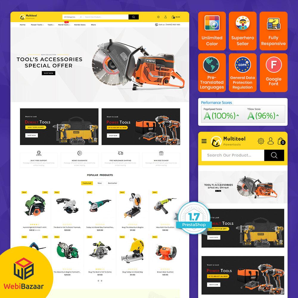 theme - Auto & Moto - Multitool - The Powertool Store - 1
