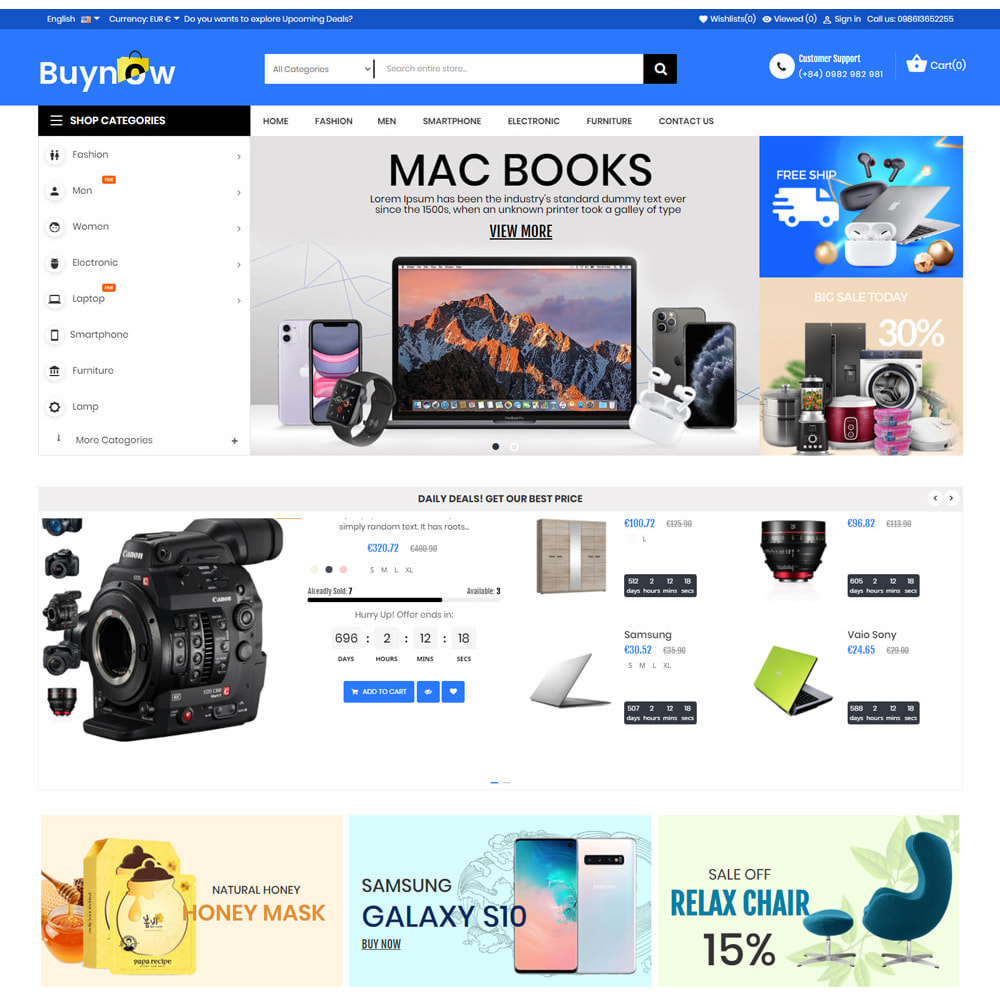 theme - Electronics & Computers - Buy Now Supermarket - 2