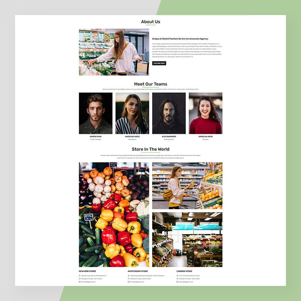 theme - Żywność & Restauracje - Veggie - fresh Organic Food Store - 9