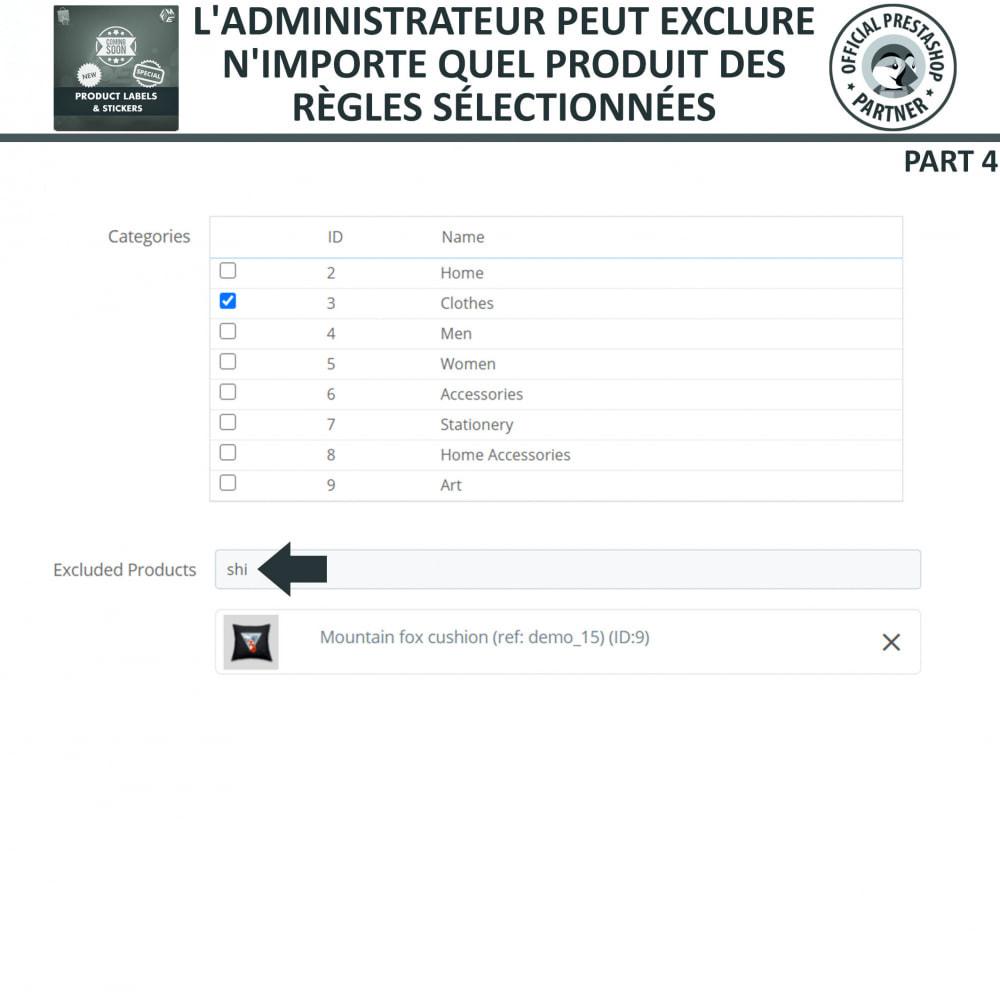 module - Etiquettes & Logos - Étiquettes de Produits et Autocollants - 16