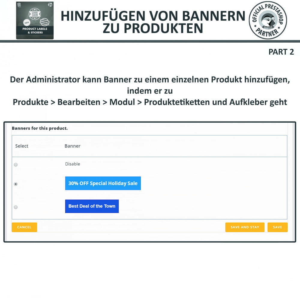 module - Badges & Logos - Produktaufkleber und Aufkleber - 18