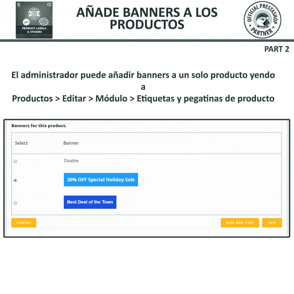 module - Etiquetas y Logos - Etiquetas y pegatinas del producto - 18