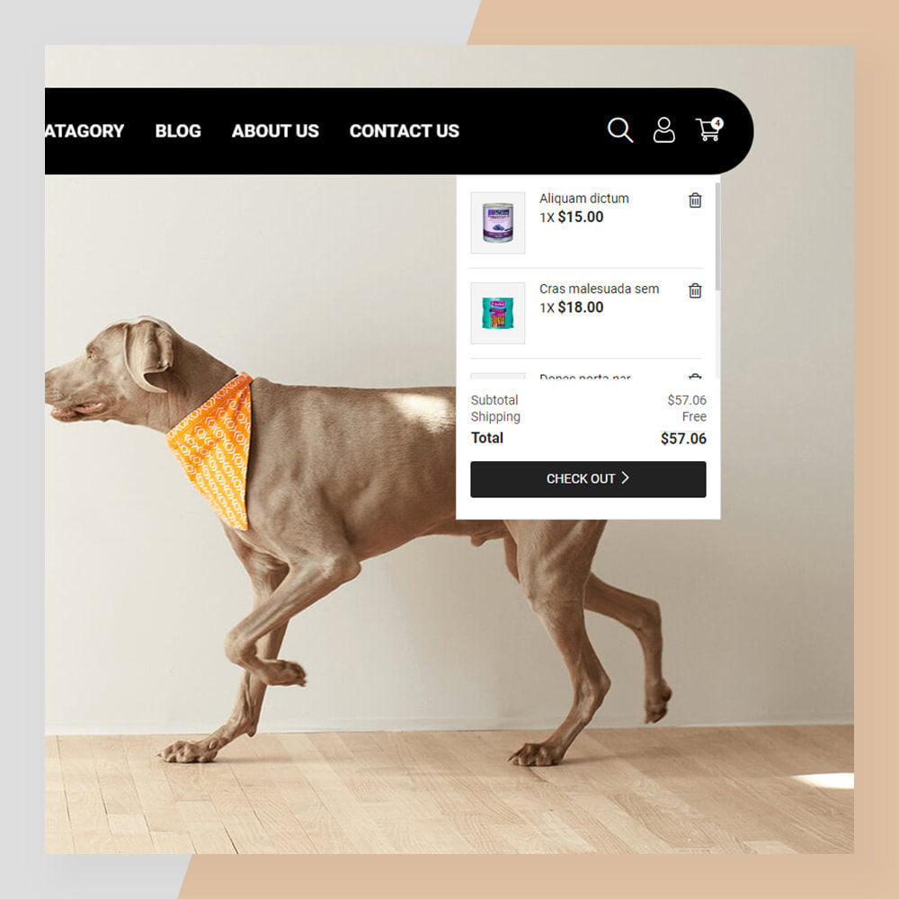 theme - Animais - Smart Pets - Minimal Pet Store - 4
