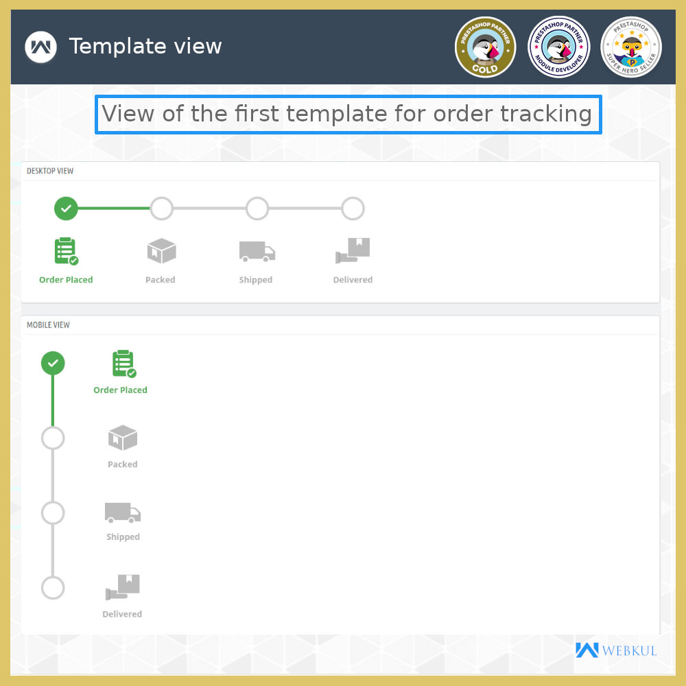 module - Delivery Tracking - Order Tracking - 4