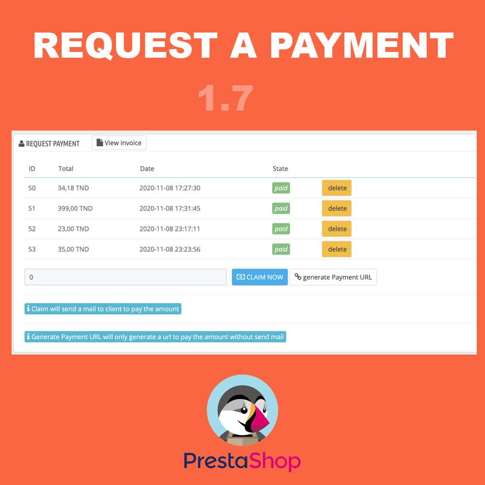 module - Inne środki płatności - Request a payment - 2