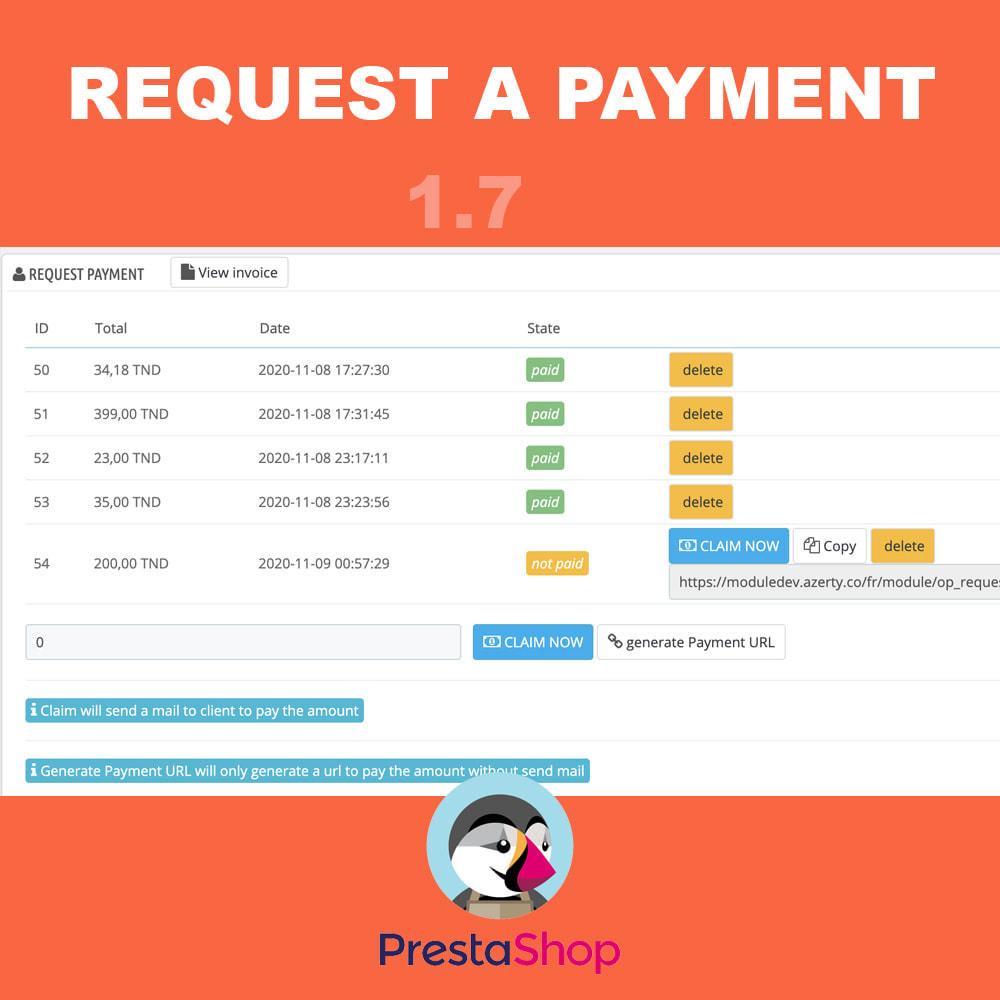 module - Inne środki płatności - Request a payment - 4