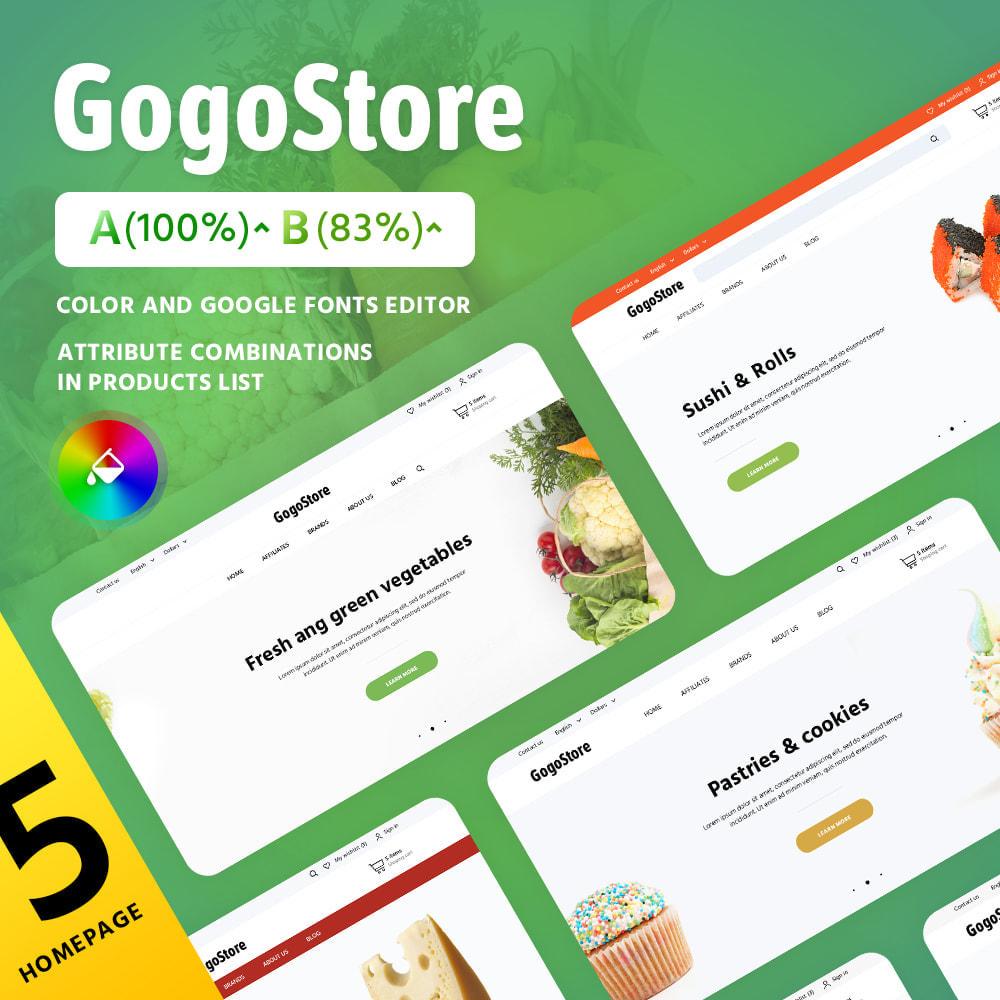 theme - Żywność & Restauracje - GogoStore - 2