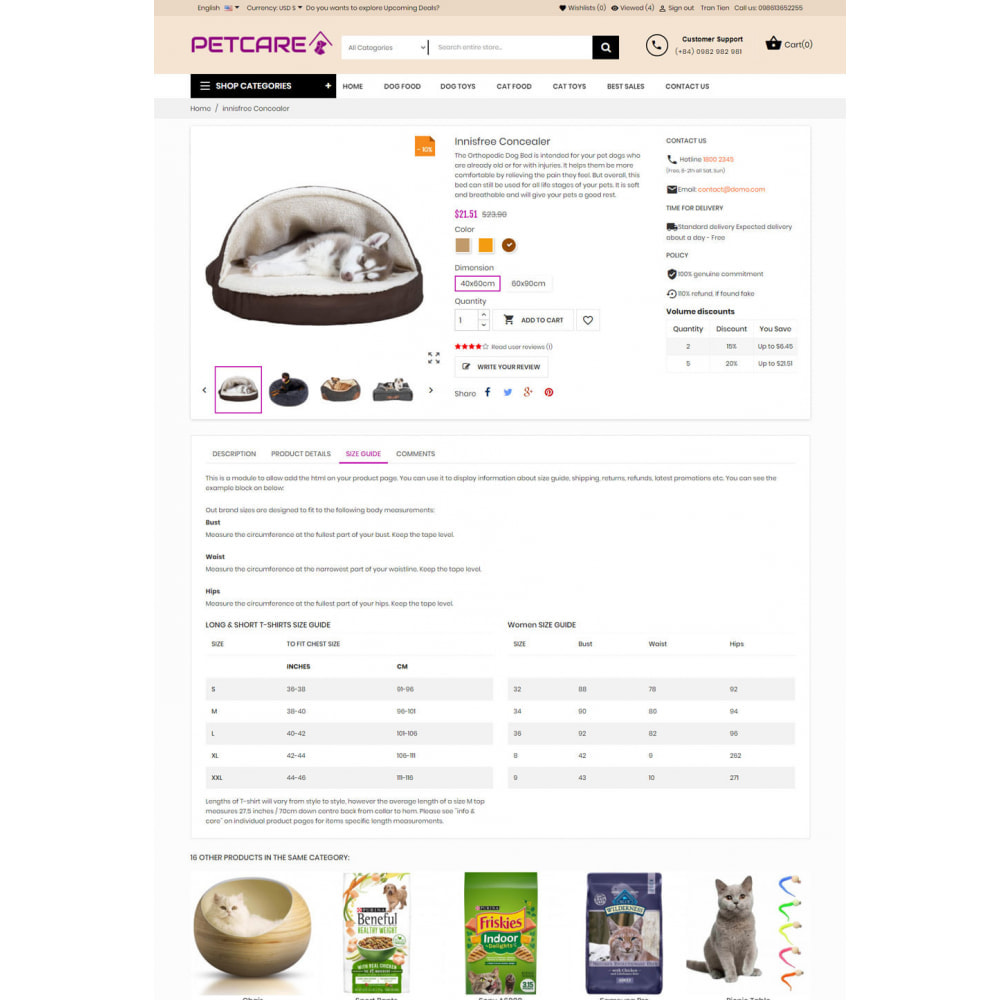 theme - Animaux - Animals & Pets Care Store - 5