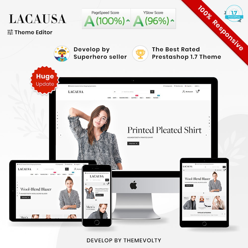 theme - Mode & Schuhe - Lacausa Mega Fashion–Clothes Super Store - 1
