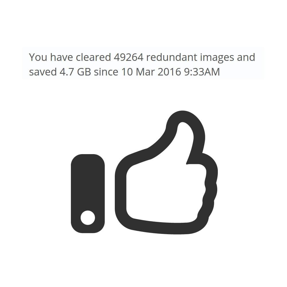 module - Performance du Site - Redundant Image Cleaner - 2