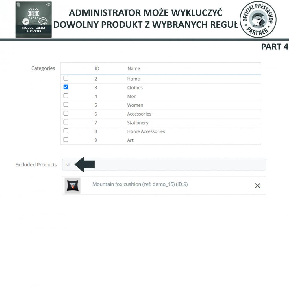 module - Odznaki & Logo - Etykiety i Naklejki na Produkty - 16