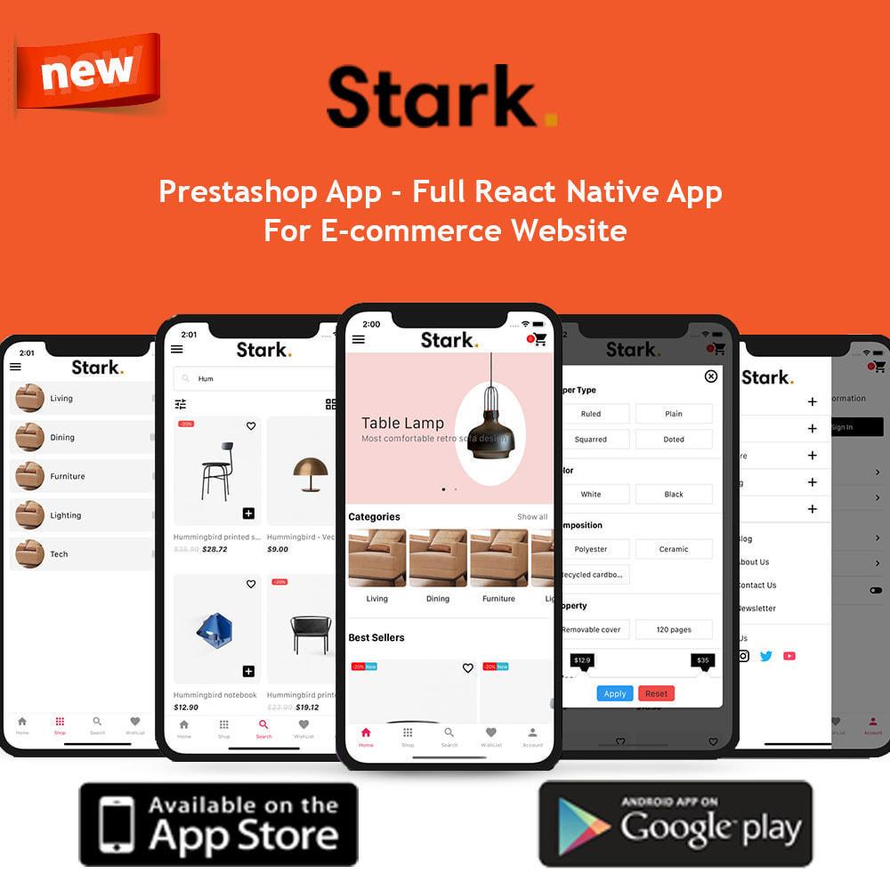 module - Dispositivos-móveis - Stark Mobile App | React Native App for Android & IOS - 1